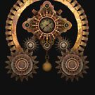 Vintage Steampunk Machine Thing by Steve Crompton