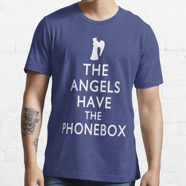 The Angels have the Phonebox - Keep Calm Spoof Essential T-Shirt
