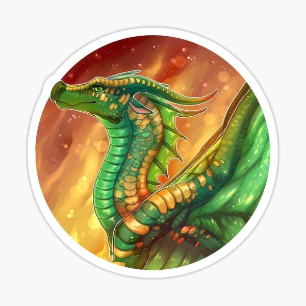 Wings of Fire - Sundew Sticker