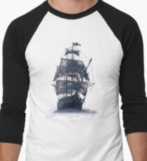Ghost Pirate Ship at Night T-Shirt