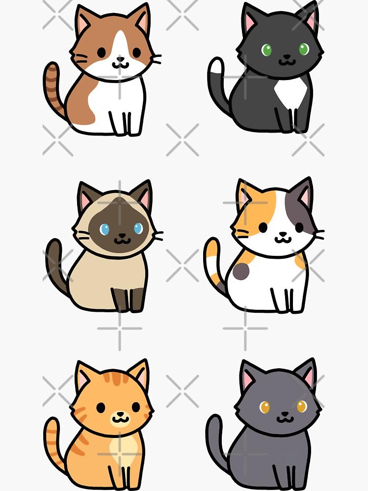 «Chats» par littlemandyart