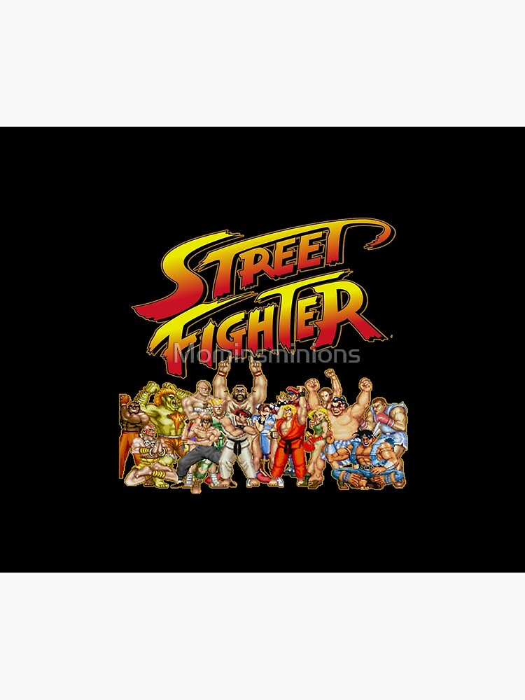 Street Fighter  retro game by Mominsminions