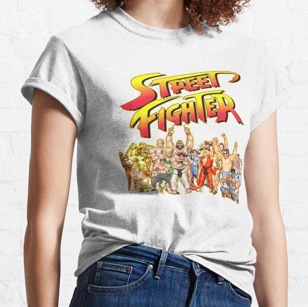 Jeu rétro Street Fighter T-shirt classique