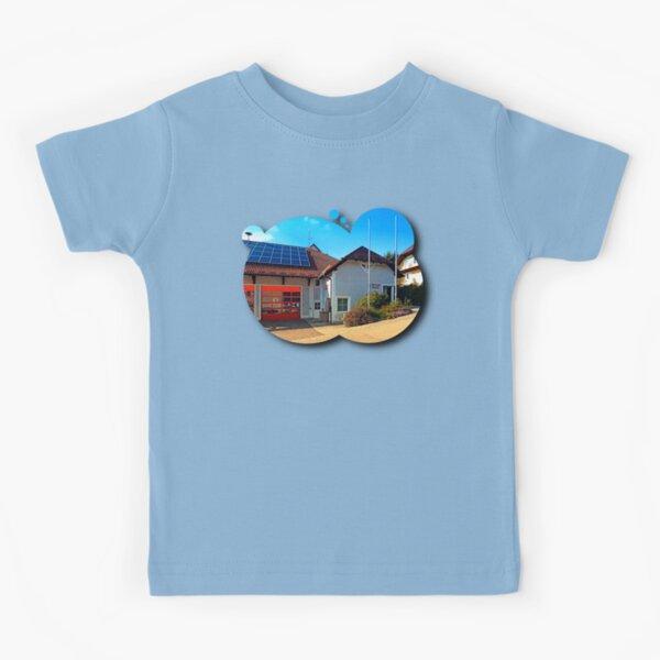 The firestation of Eidenberg Kids T-Shirt