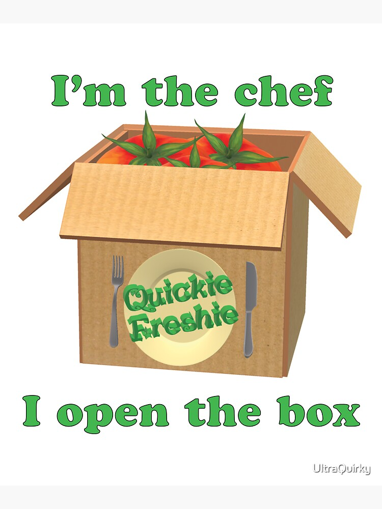 Boxed Meals. Cooking in the 21st Century. by UltraQuirky