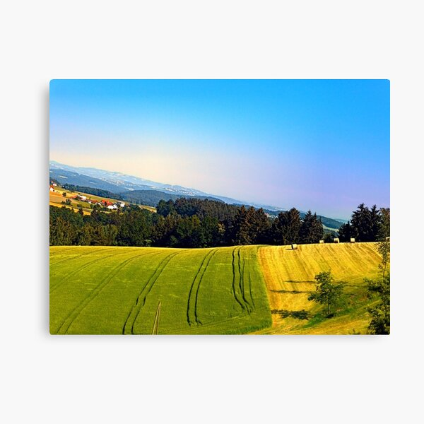 Tipping the scenery Canvas Print
