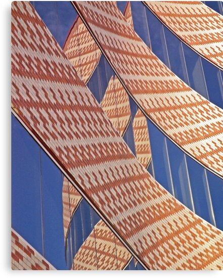 Wacky bricks and glass by Linda Sparks