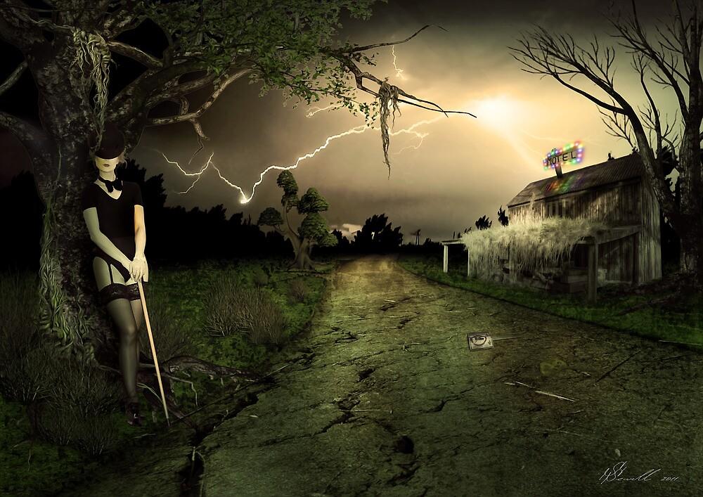 Side Road Motel by Svetlana Sewell