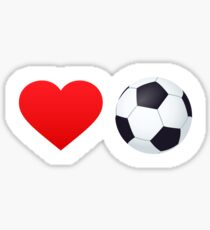 Love soccer! Sticker