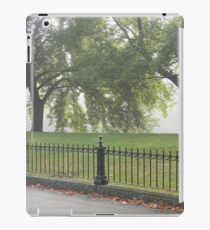 Fence and Trees iPad Case/Skin