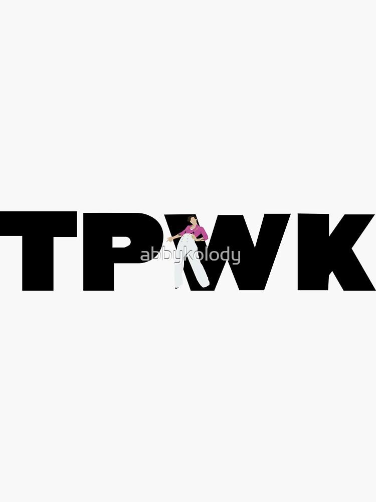TPWK Harry Styles línea fina de abbykolody