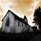 St Mary's Church Silchester by Samantha Higgs