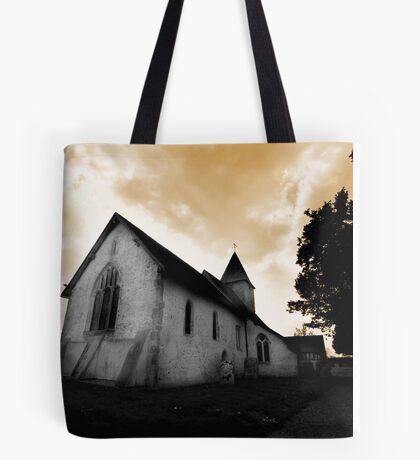 St Mary's Church Silchester Tote Bag