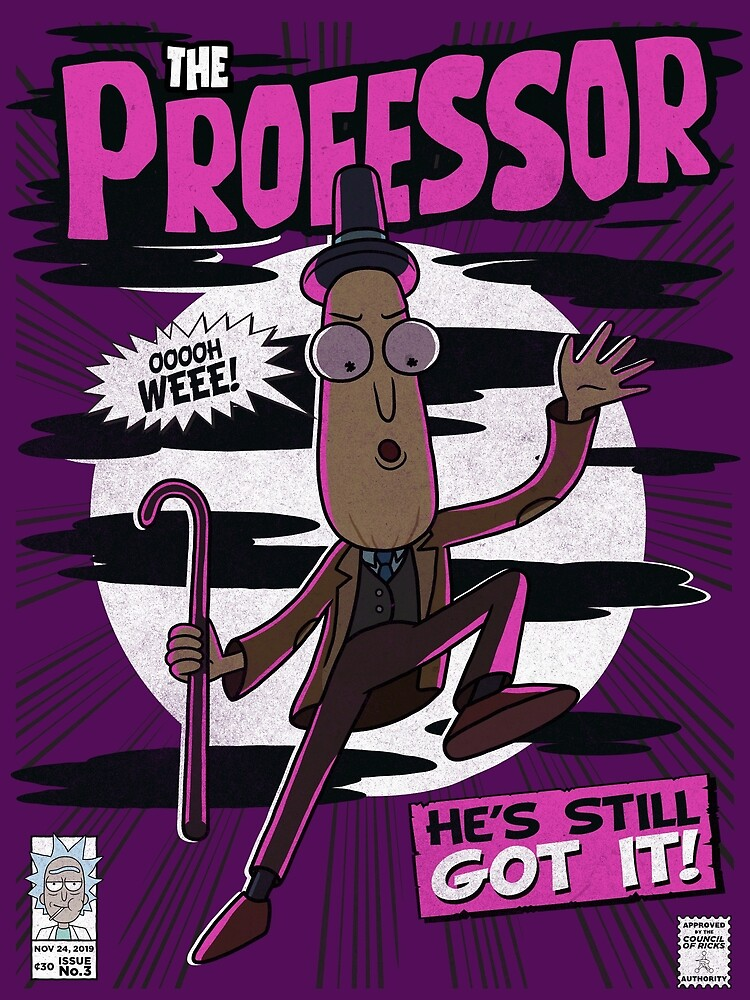The Professor by ToastMonsters