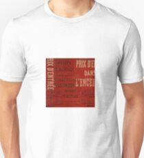 Old Paris poster Unisex T-Shirt