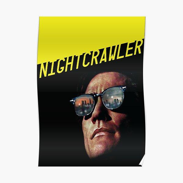 MCPoster Nightcrawler Jack Hyllenhaal Movie Poster Glossy Finish PRM423