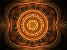 Movie Palace Ceiling by Lyle Hatch