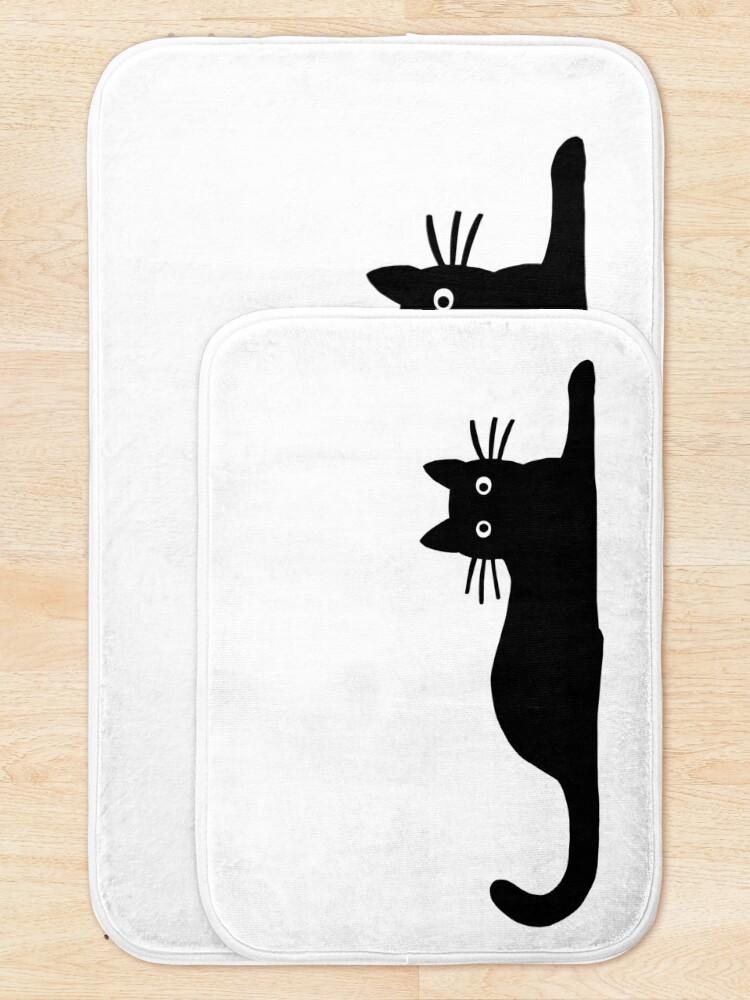 Alternate view of Black Cat Bath Mat