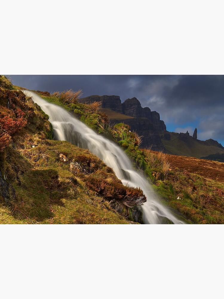 Storr Waterfall by Shuggie
