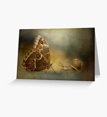 Brian asked the butterfly...... Greeting Card