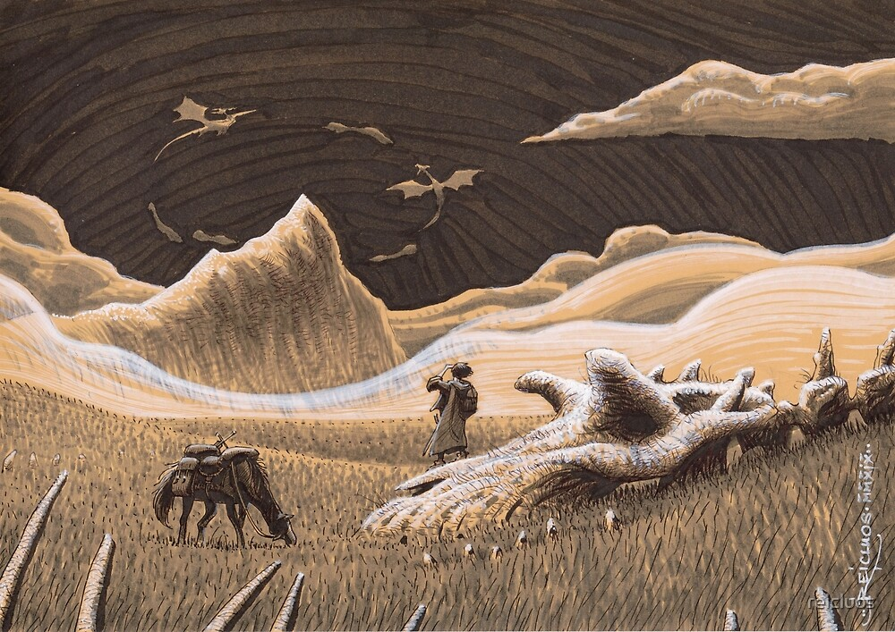 To the Dragon Mountain by reicluos