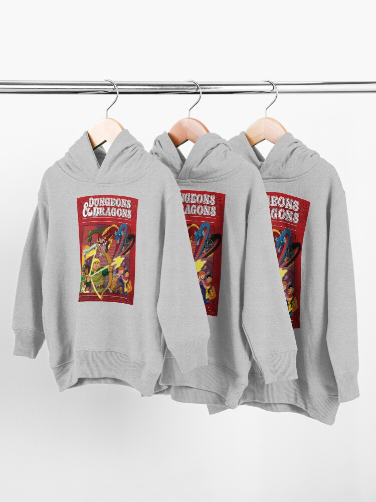 Alternate view of Dungeons And Dragons Toddler Pullover Hoodie