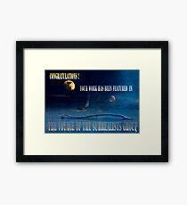 Voyager Framed Print