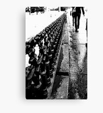 Walks Canvas Print