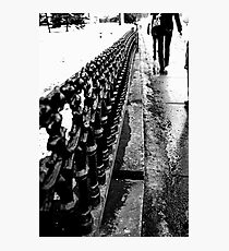 Walks Photographic Print