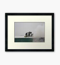 Smoke Eaters Framed Print