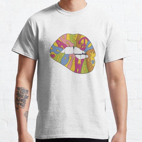 Haz el amor y no la guerra... Camiseta clásica
