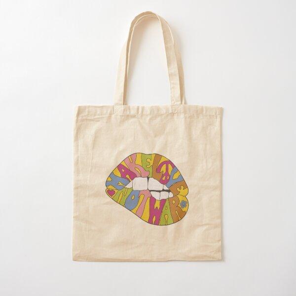 make love not war... Cotton Tote Bag
