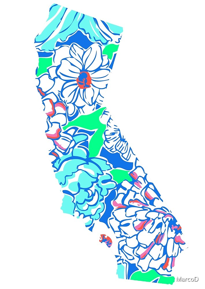 Lilly States - California by MarcoD