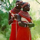 Samburu Girls, Kenya by Heather Friedman