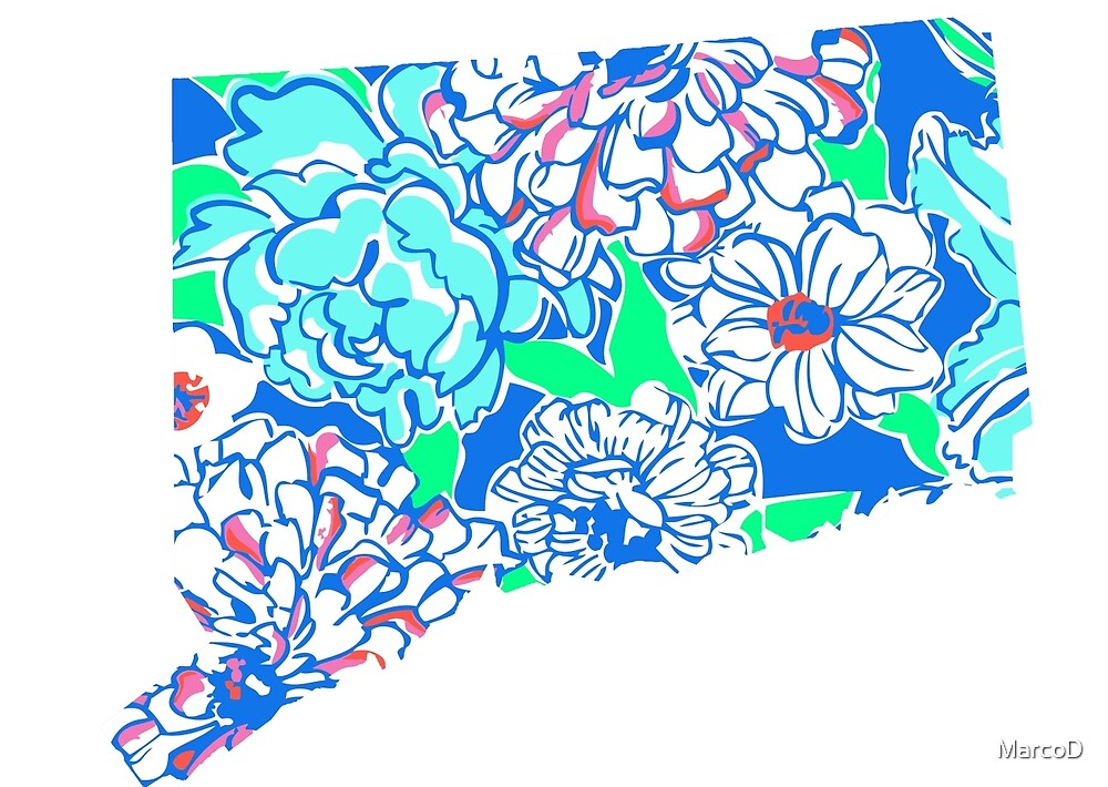 Lilly States - Connecticut by MarcoD