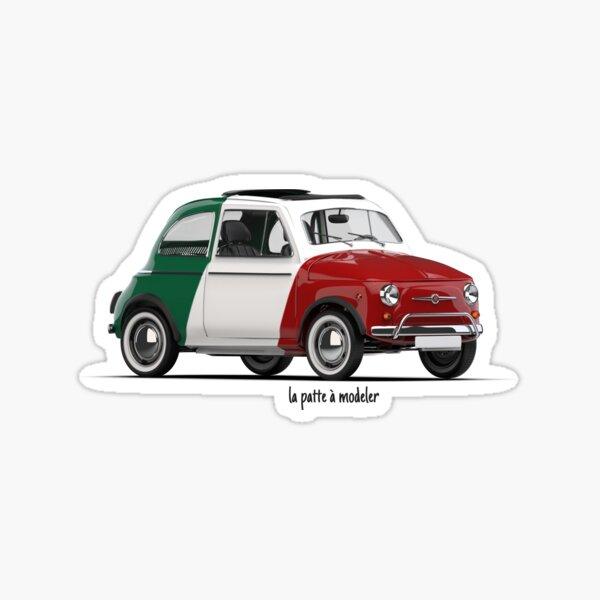 Fiat 500 Italy Sticker