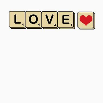 LOVE Scrabble by lmlm6819