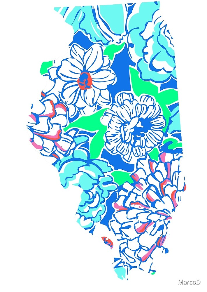 Lilly States - Illinois by MarcoD
