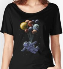 Space Travel Women's Relaxed Fit T-Shirt