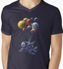 Space Travel Men's V-Neck T-Shirt