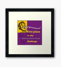 First Place CCG banner Framed Print