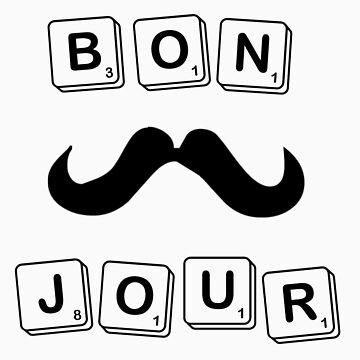BONJOUR Scrabble by lmlm6819
