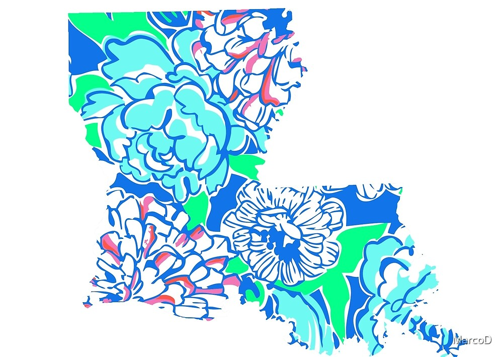 Lilly States - Louisiana by MarcoD