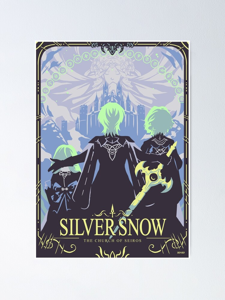Alternate view of Silver Snow Poster