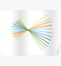Colour Spiral Poster