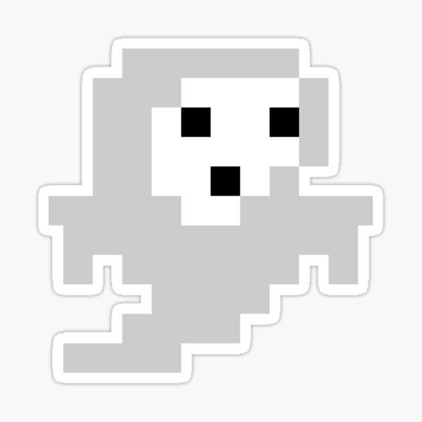 Pixel Dungeon Sad Ghost Sticker