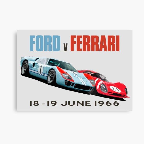 Ford v Ferrari 1966 Canvas Print