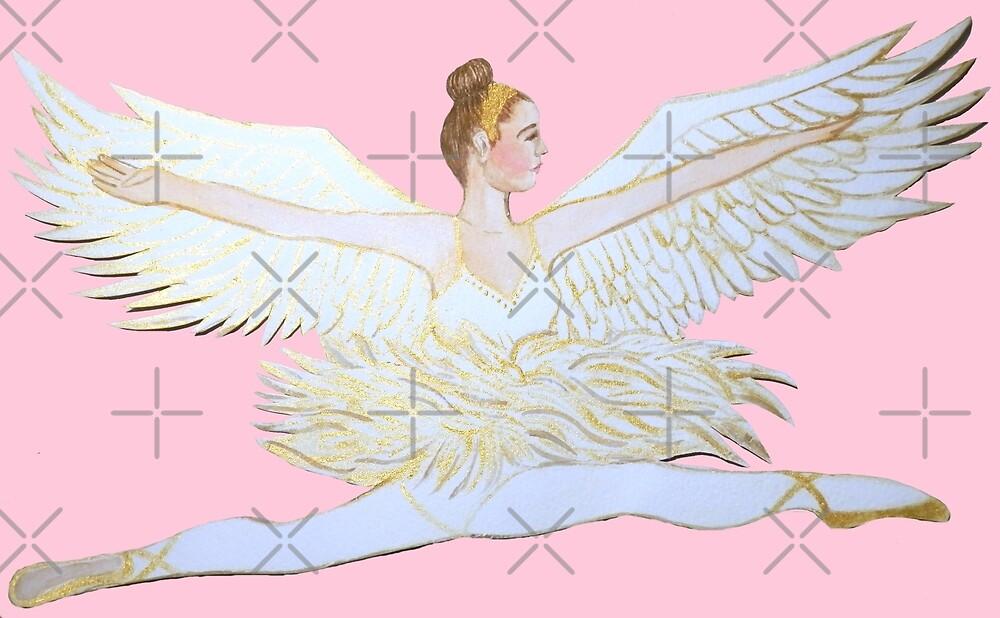 ballet angel from the Nutcracker Ballet by MagentaRose