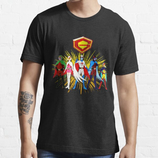 The whole Battle Of The Planets Gatchaman Team  Essential T-Shirt