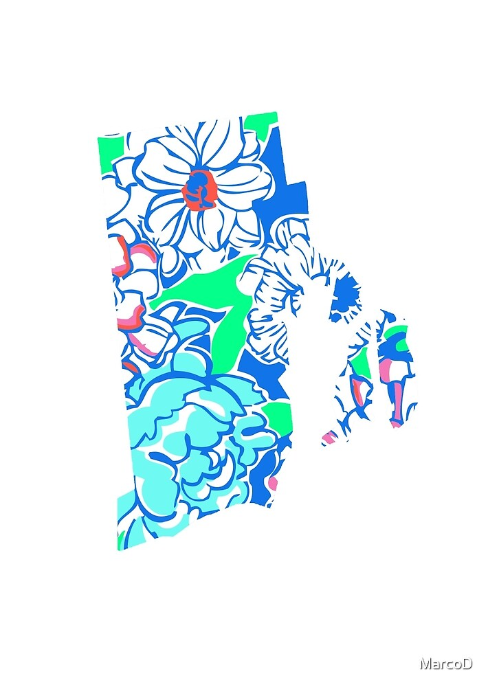 Lilly States - Rhode Island by MarcoD